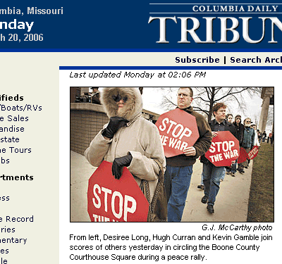 Columbia Daily Tribune home page